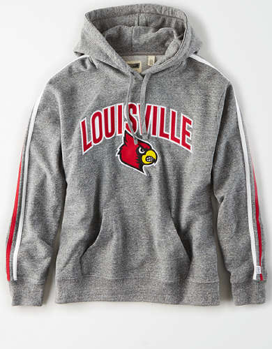 Tailgate Women's Louisville Cardinals Fleece Hoodie