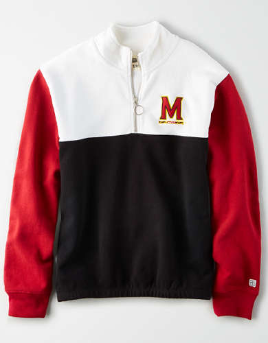 Tailgate Women's Maryland Terrapins Quarter-Zip Sweatshirt