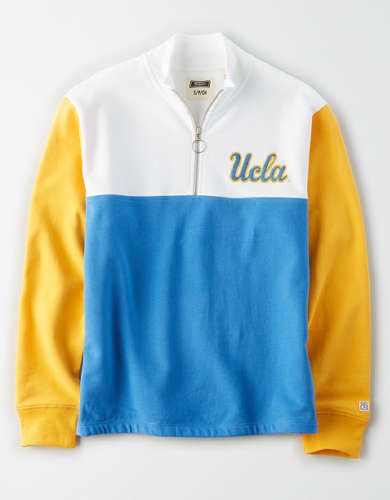 Tailgate Women's UCLA Bruins Quarter-Zip Sweatshirt
