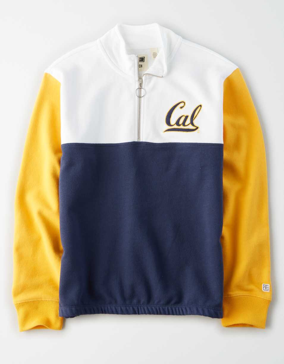 Tailgate Women's Cal Berkeley Bears Quarter-Zip Sweatshirt