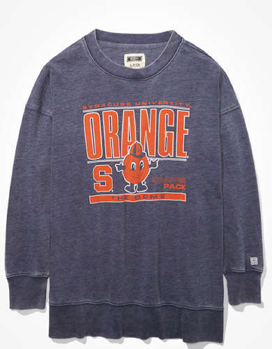 Tailgate Women's Syracuse Orange Oversized Sweatshirt