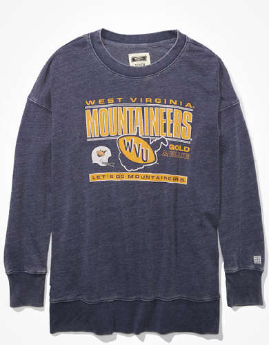 Tailgate Women's WVU Mountaineers Oversized Sweatshirt