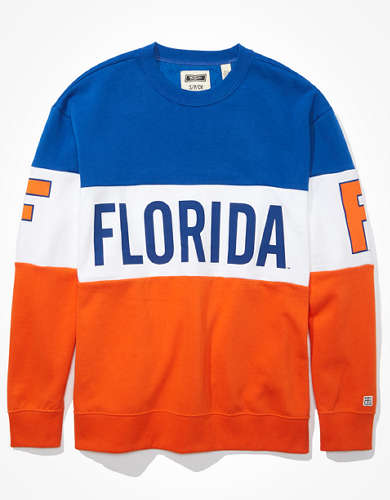 Tailgate Women's Florida Gators Colorblock Sweatshirt