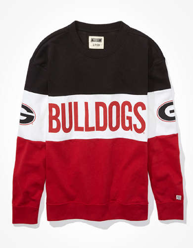 Tailgate Women's Georgia Bulldogs Colorblock Sweatshirt