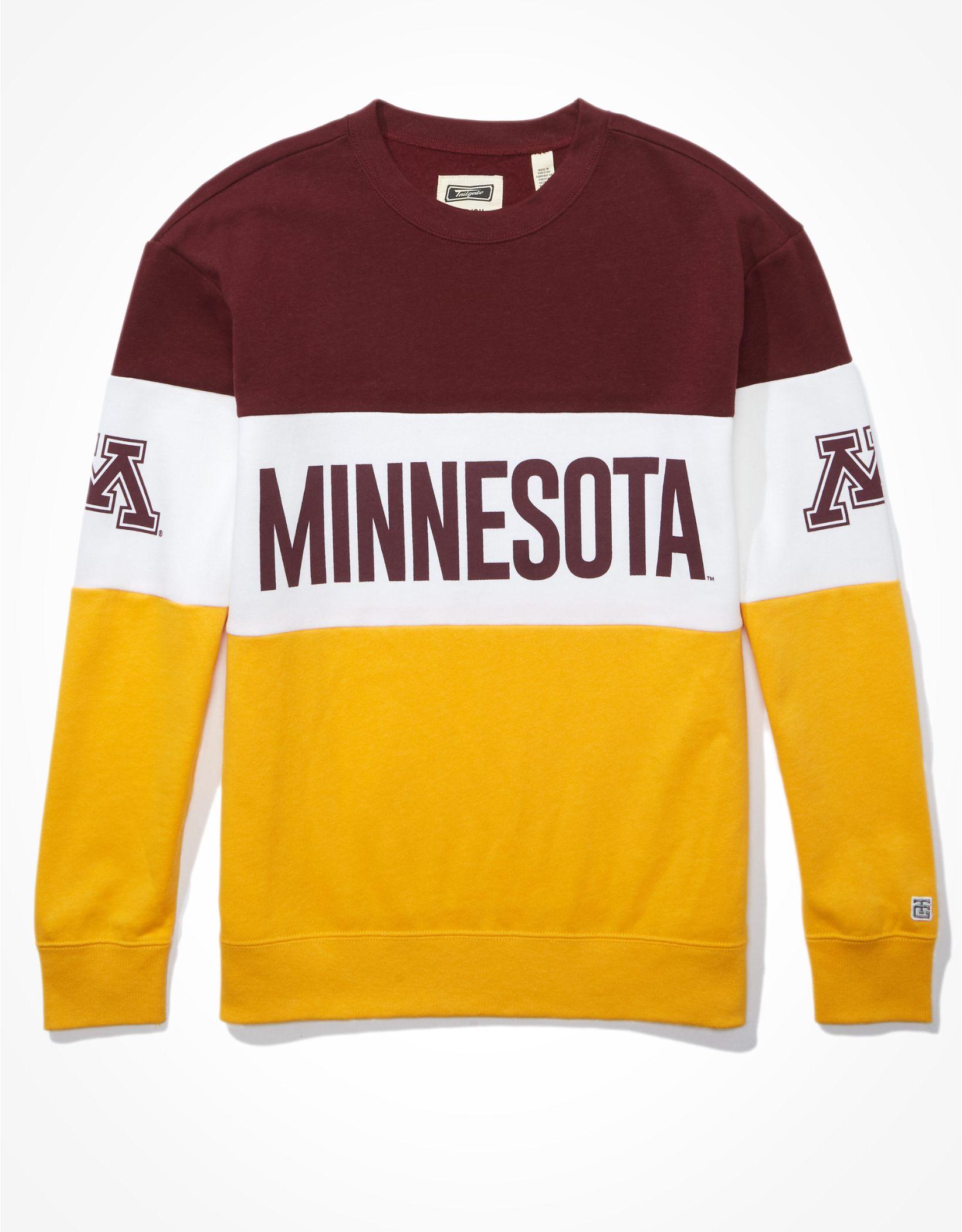 Tailgate Women's Minnesota Golden Gophers Colorblock Sweatshirt