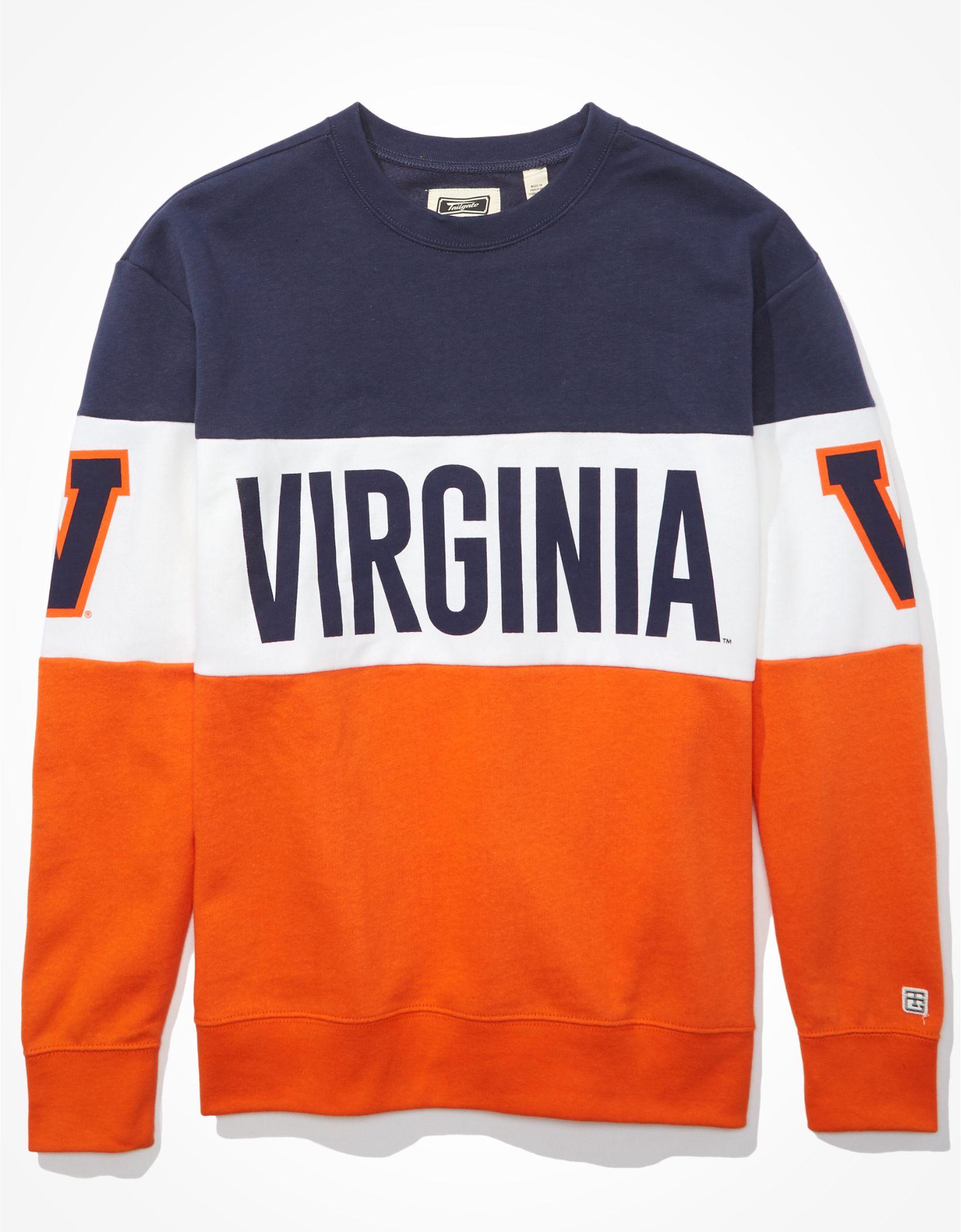 Tailgate Women's Virginia Cavaliers Colorblock Sweatshirt