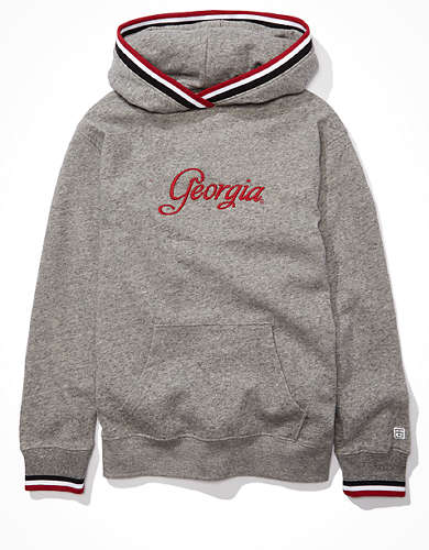 Tailgate Women's Georgia Bulldogs Tipped Hoodie