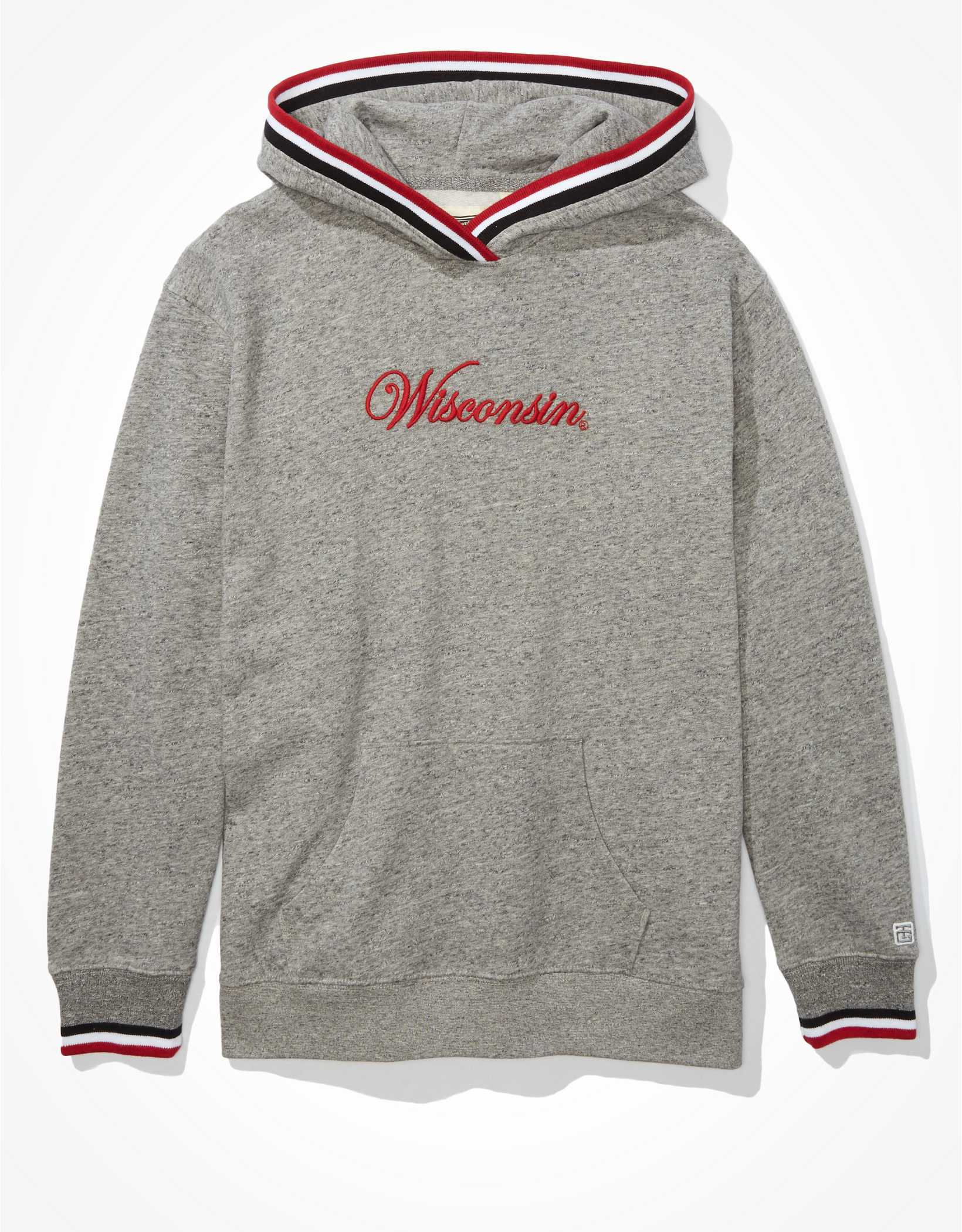 Tailgate Women's Wisconsin Badgers Tipped Hoodie