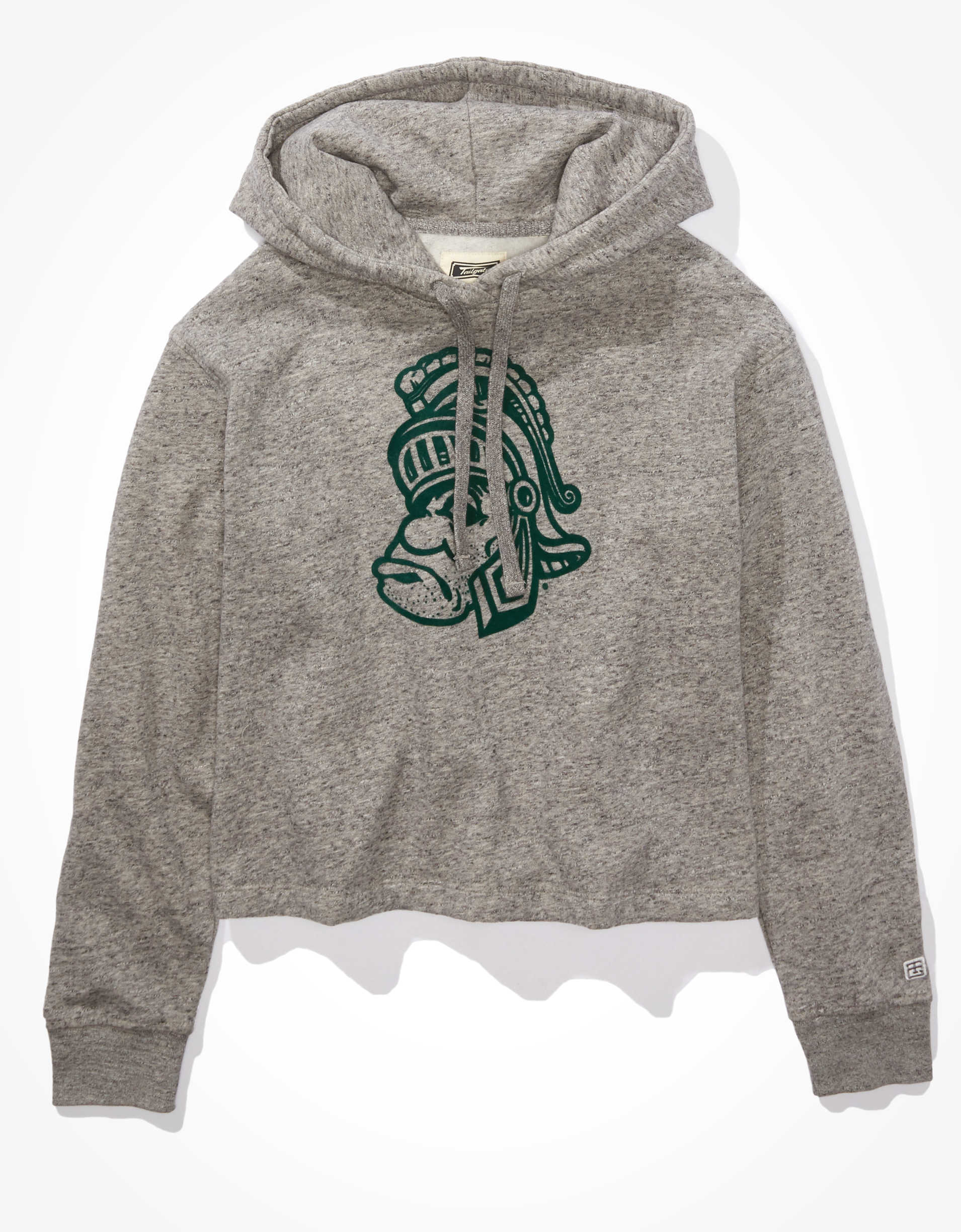 Tailgate Women's Michigan State Spartans Cropped Hoodie