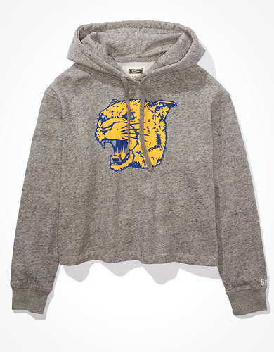 Tailgate Women's Pitt Panthers Cropped Hoodie