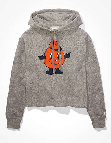 Tailgate Women's Syracuse Orange Cropped Hoodie