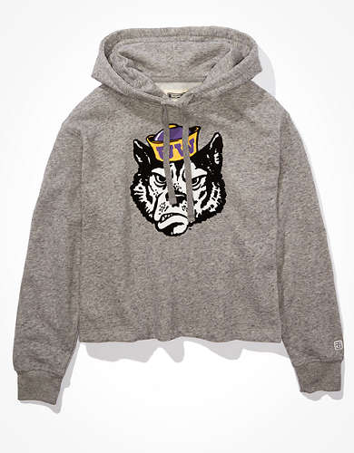 Tailgate Women's Washington Huskies Cropped Hoodie