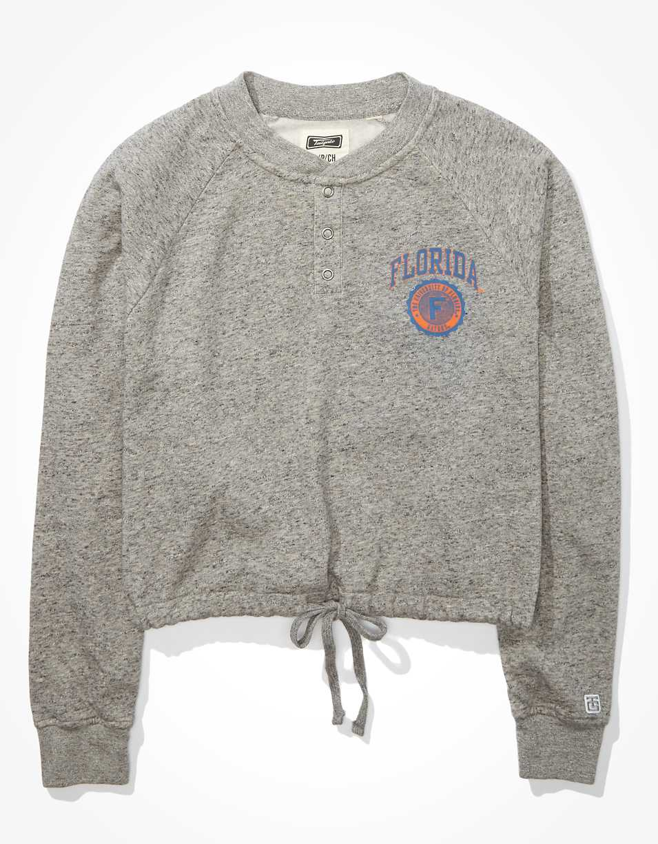 Tailgate Women's Florida Gators Cropped Sweatshirt