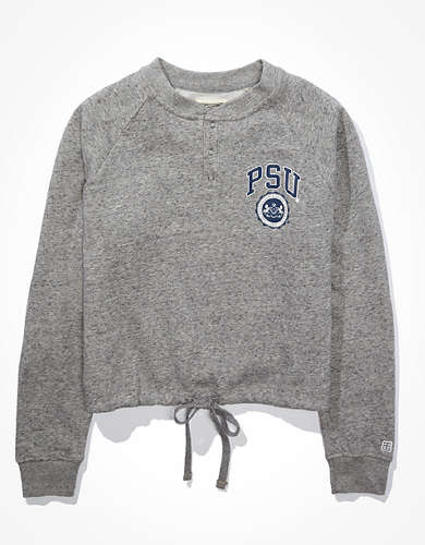 Tailgate Women's PSU Cropped Sweatshirt