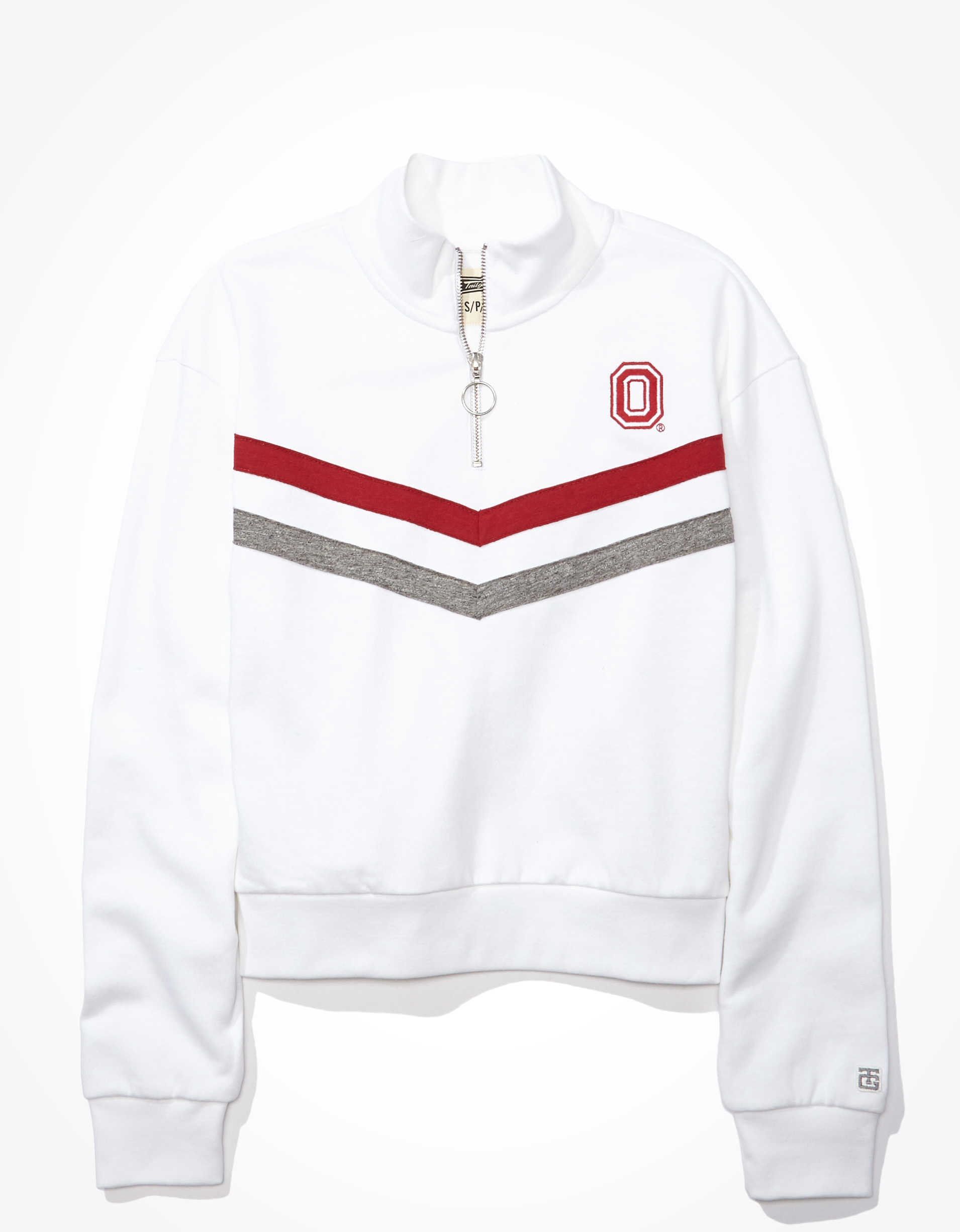Tailgate Women's Ohio State Quarter-Zip Sweatshirt