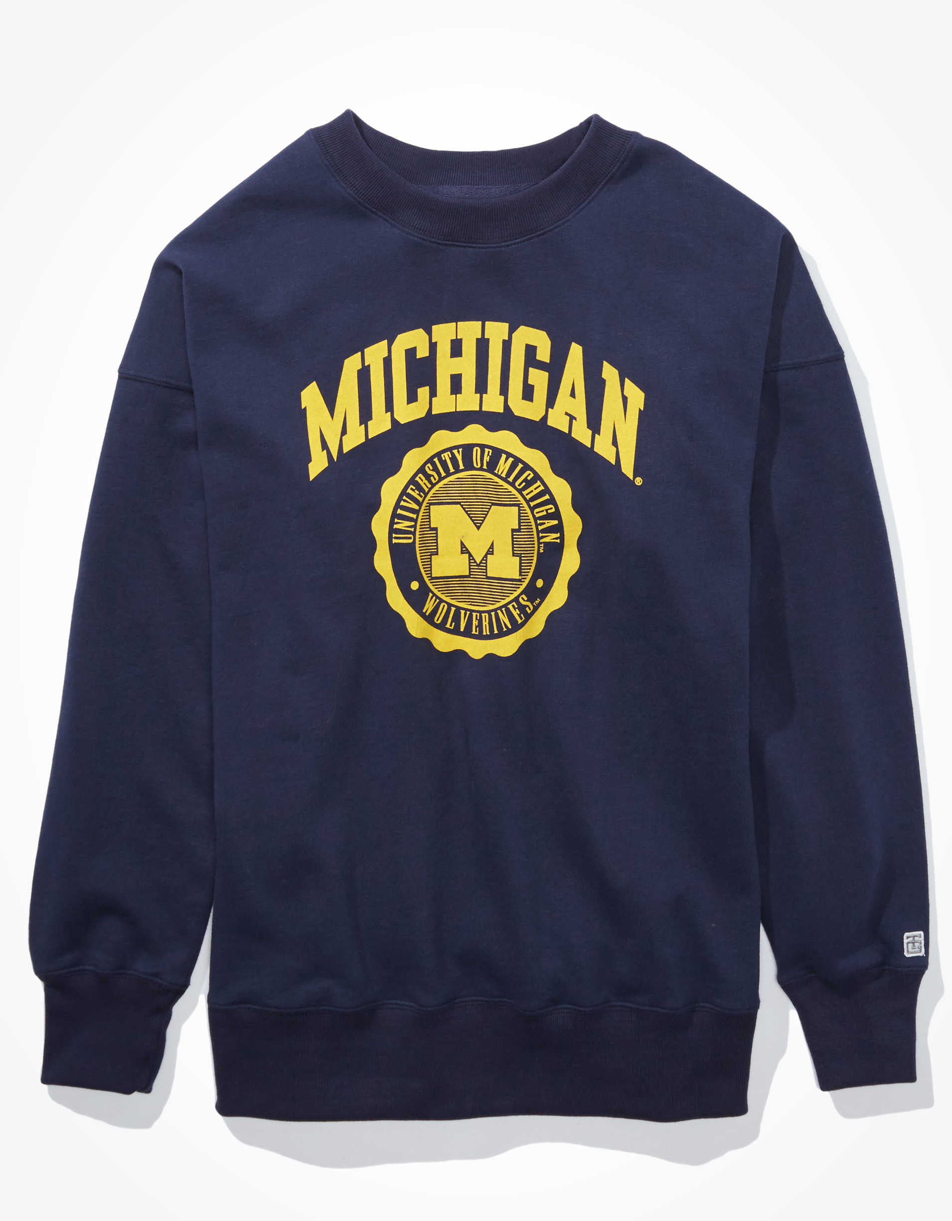 Tailgate Women's Michigan Oversized Sweatshirt