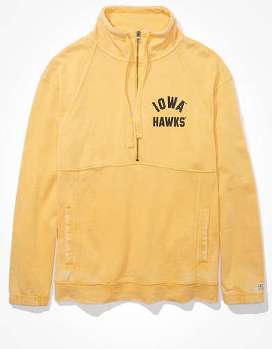 Tailgate Women's Iowa Hawkeyes Quarter-Zip Sweatshirt