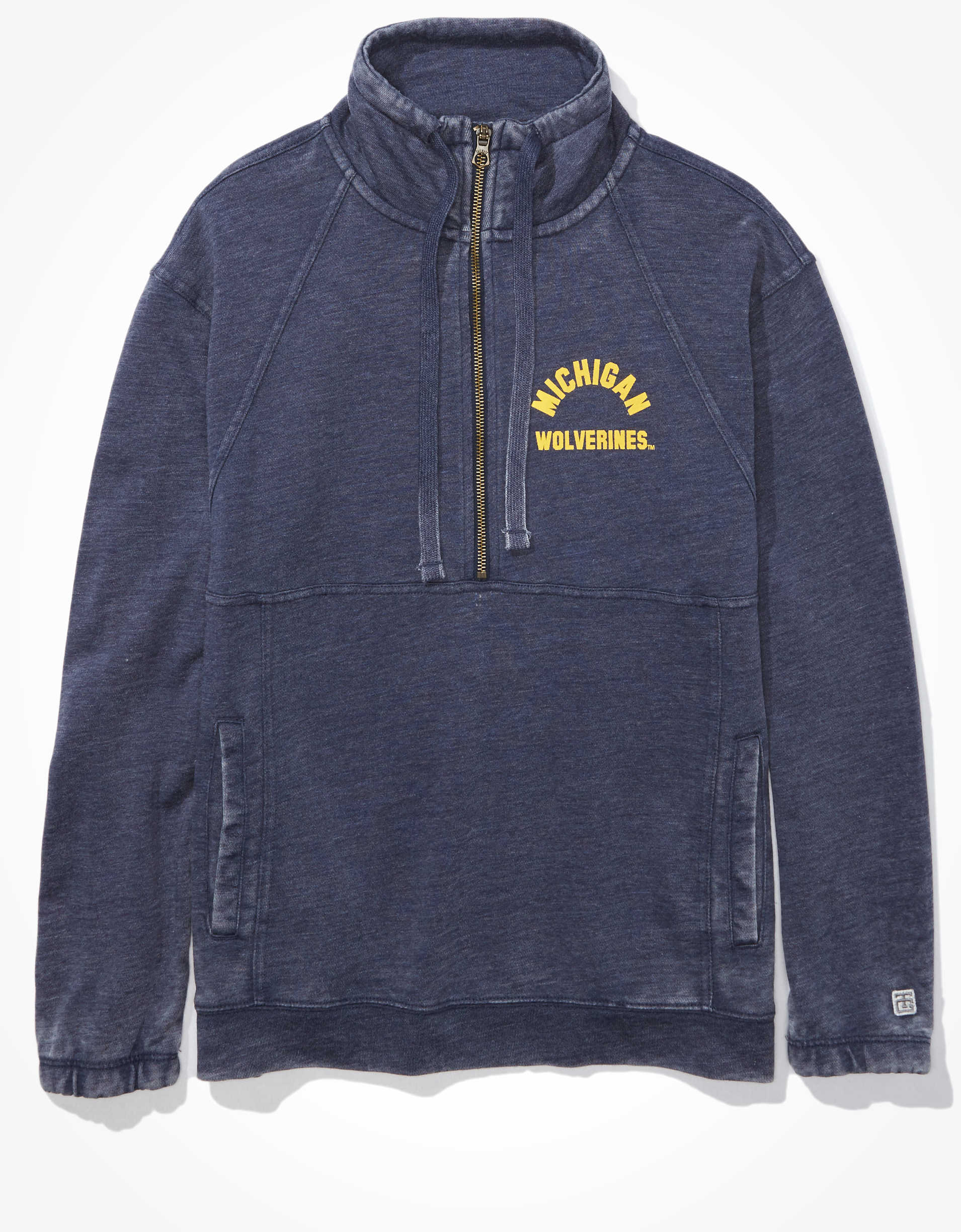 Tailgate Women's Michigan Wolverines Quarter-Zip Sweatshirt