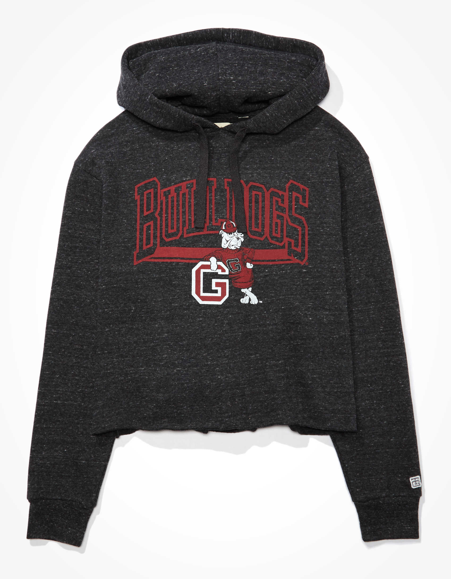 Tailgate Women's Georgia Bulldogs Cropped Hoodie
