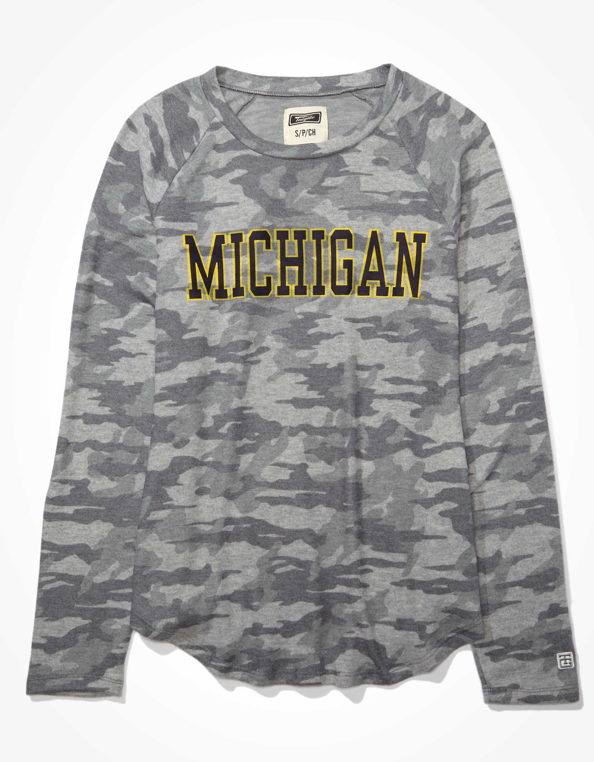 Tailgate Women's Michigan Wolverines Plush Shirt