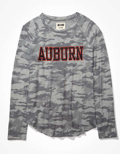 Tailgate Women's Auburn Tigers Plush Shirt