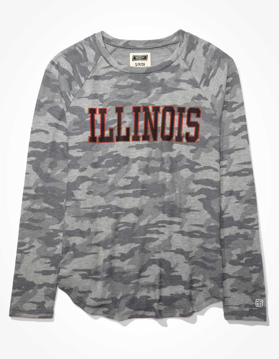 Tailgate Women's Illinois Fighting Illini Plush Shirt