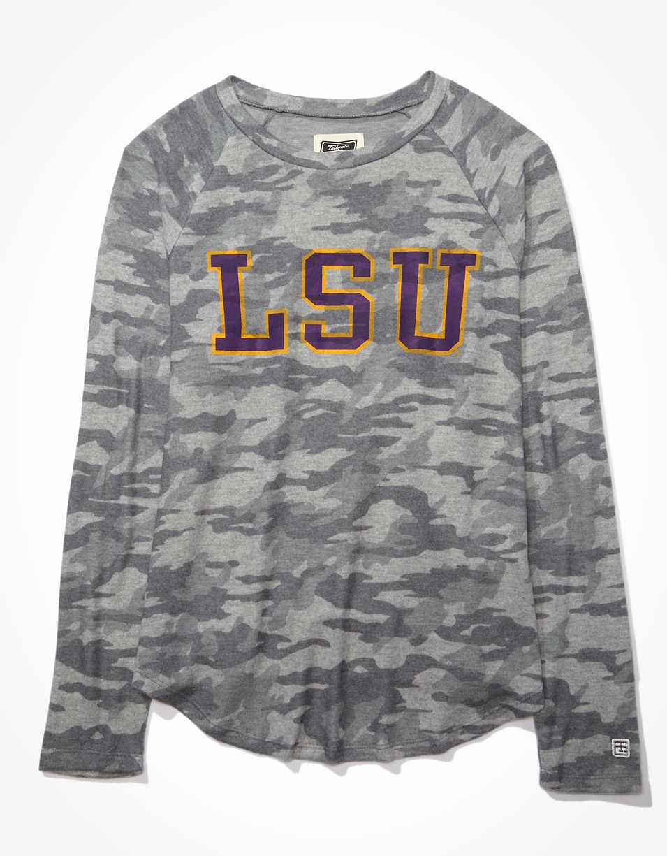 Tailgate Women's LSU Tigers Plush Shirt