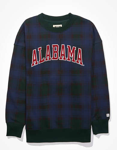 Tailgate Women's Alabama Crimson Tide Plaid Sweatshirt