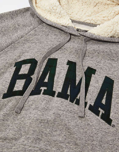 Tailgate Women's Alabama Crimson Tide Sherpa Lined Hoodie