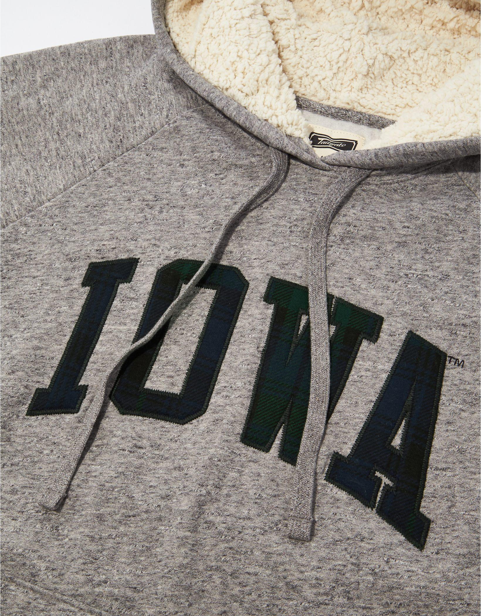 Tailgate Women's Iowa Hawkeyes Sherpa Lined Hoodie