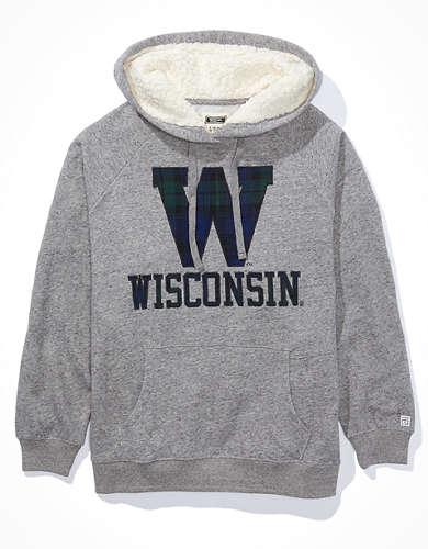 Tailgate Women's Wisconsin Badgers Sherpa Lined Hoodie