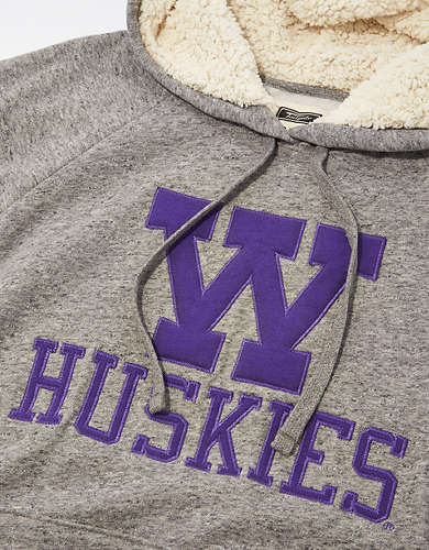 Tailgate Women's Washington Huskies Sherpa Lined Hoodie