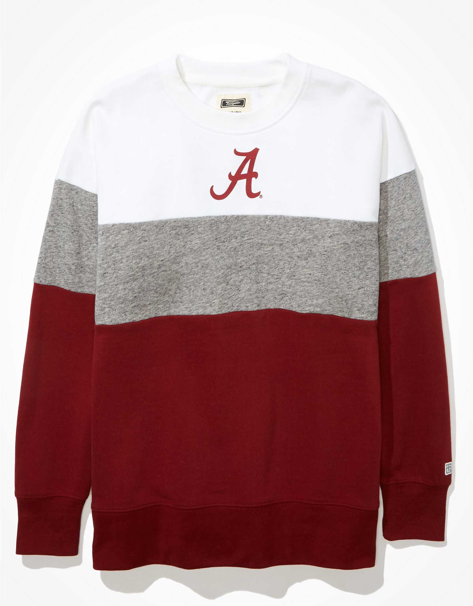 Tailgate Women's Alabama Crimson Tide Colorblock Sweatshirt