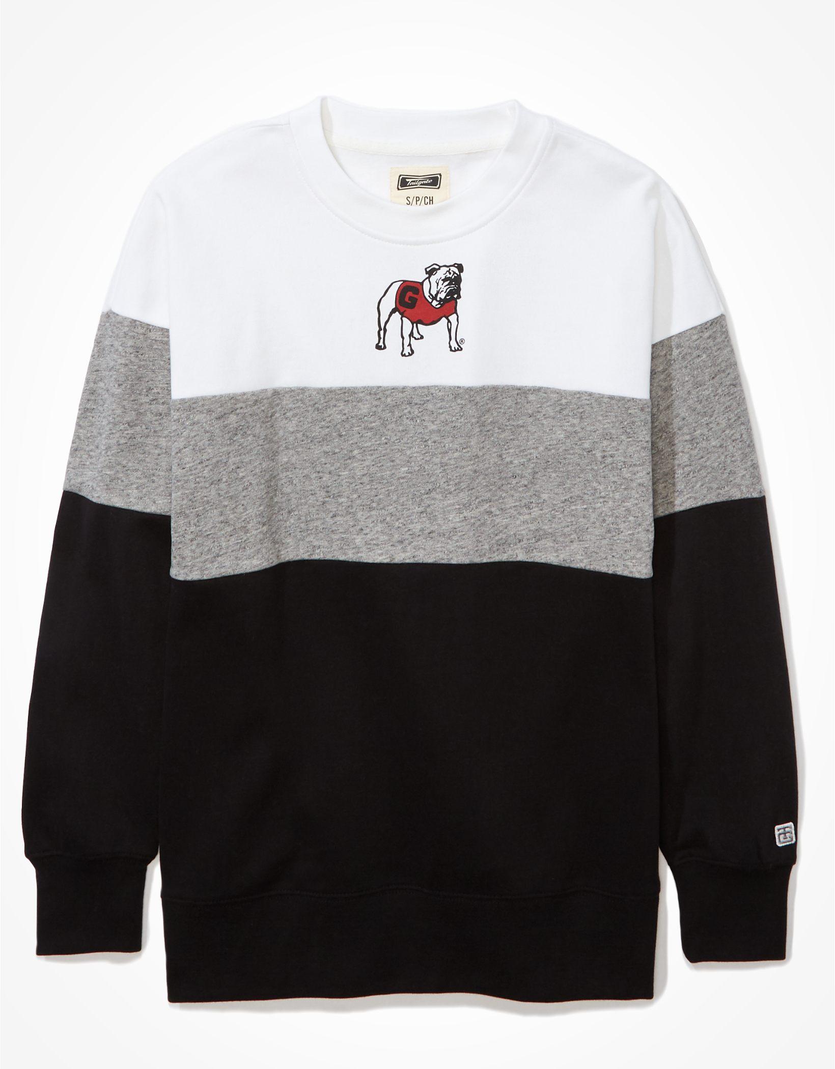 Tailgate Women's UGA Colorblock Sweatshirt