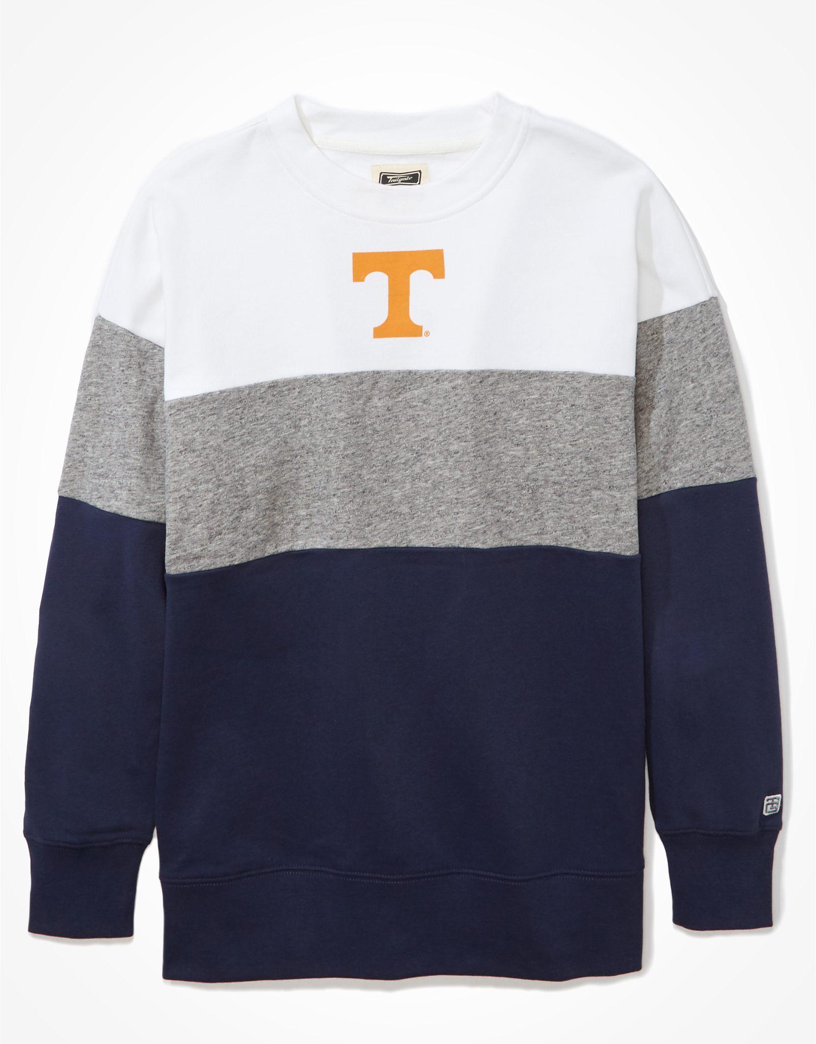 Tailgate Women's Tennessee Volunteers Colorblock Sweatshirt