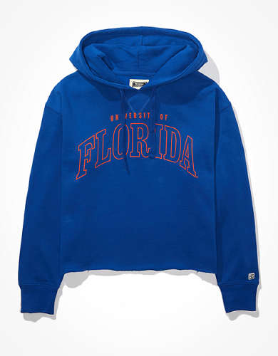 Tailgate Women's Florida Gators Cropped Hoodie