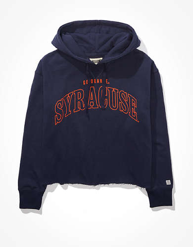 Tailgate Women's Syracuse Cropped Hoodie