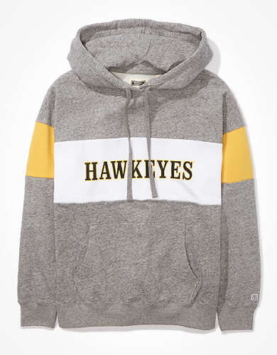 Tailgate Women's Iowa Hawkeyes Colorblock Hoodie