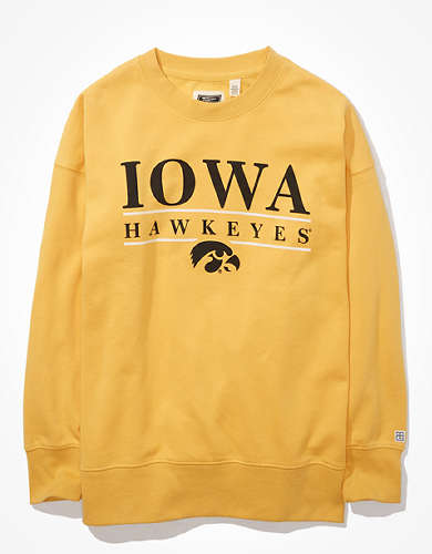 Tailgate Women's Iowa Hawkeyes Oversized Sweatshirt