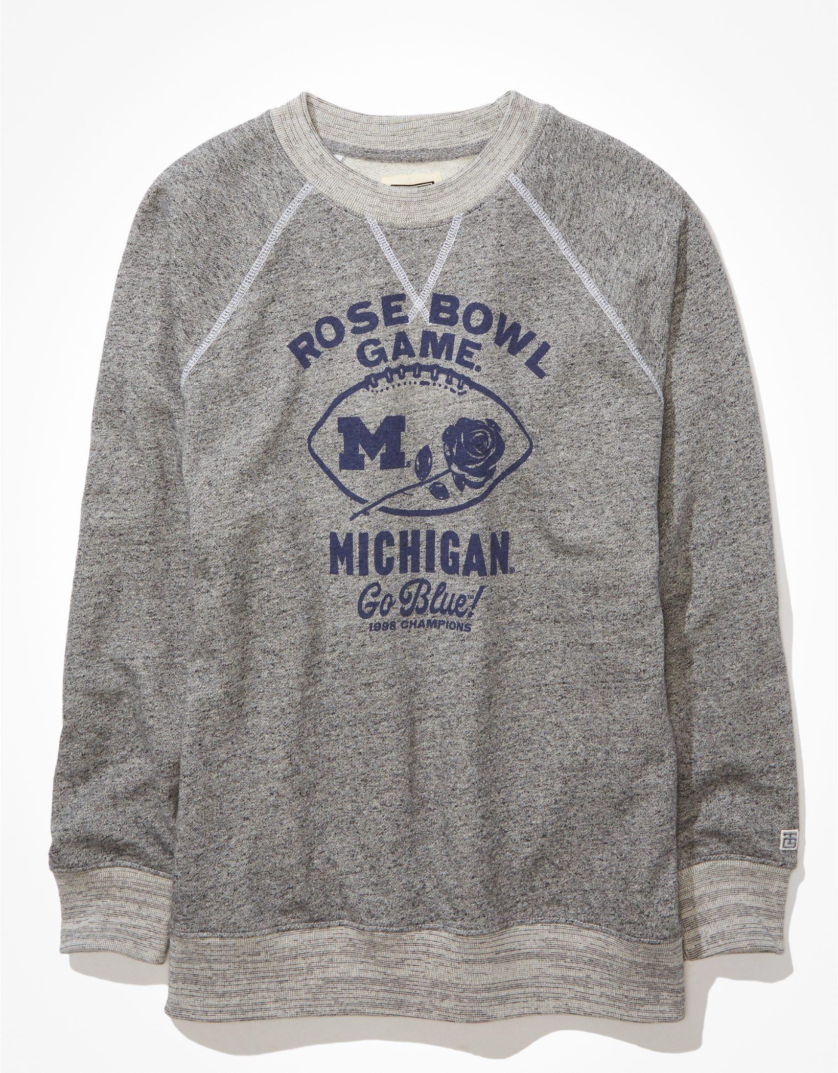 Tailgate Women's Michigan Wolverines Oversized Fleece Sweatshirt
