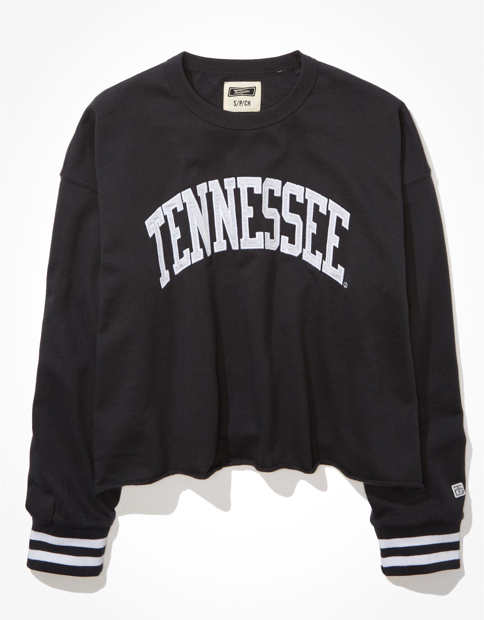Tailgate Women's Tennessee Vols Tipped Raw Hem Sweatshirt