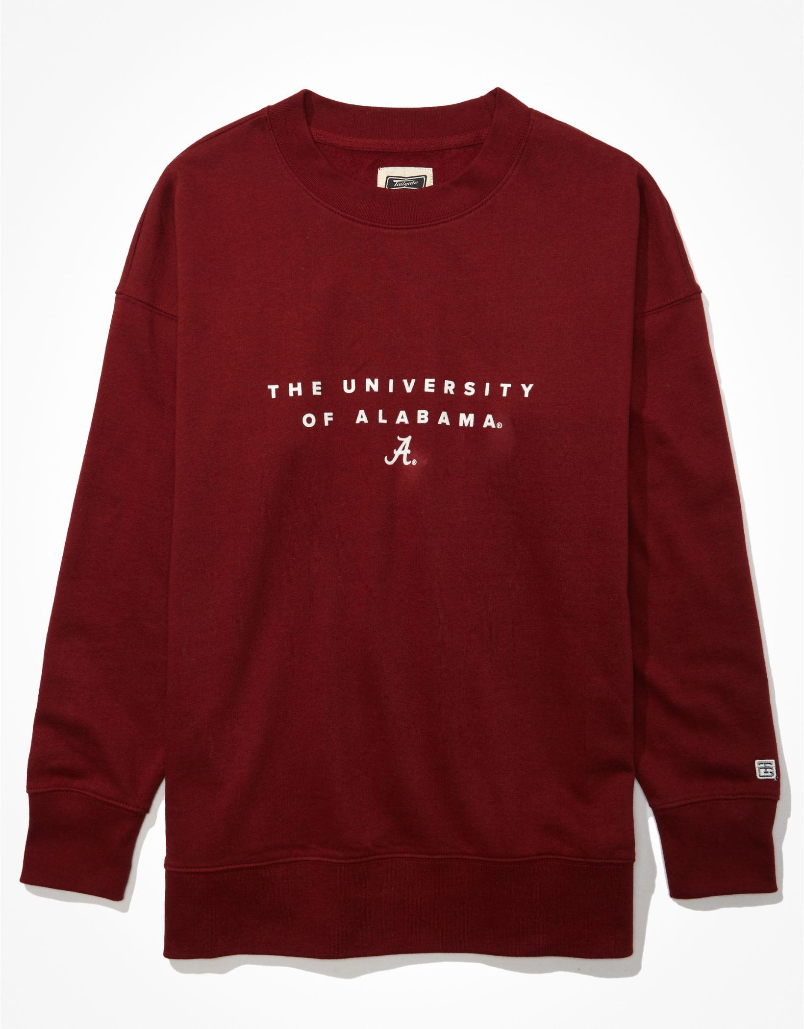 Tailgate Women's Alabama Crimson Tide Oversized Sweatshirt