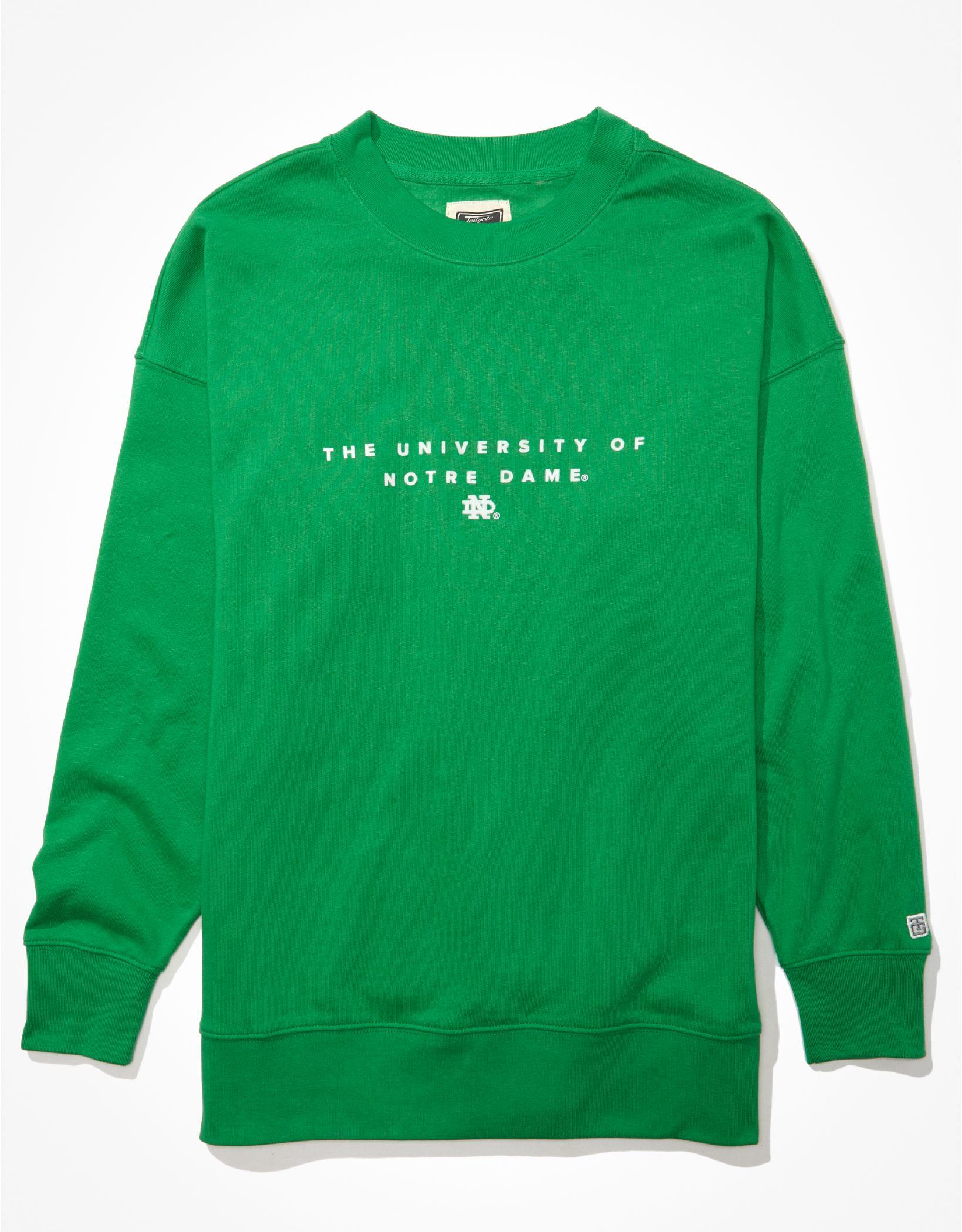 Tailgate Women's Notre Dame Fighting Irish Oversized Sweatshirt