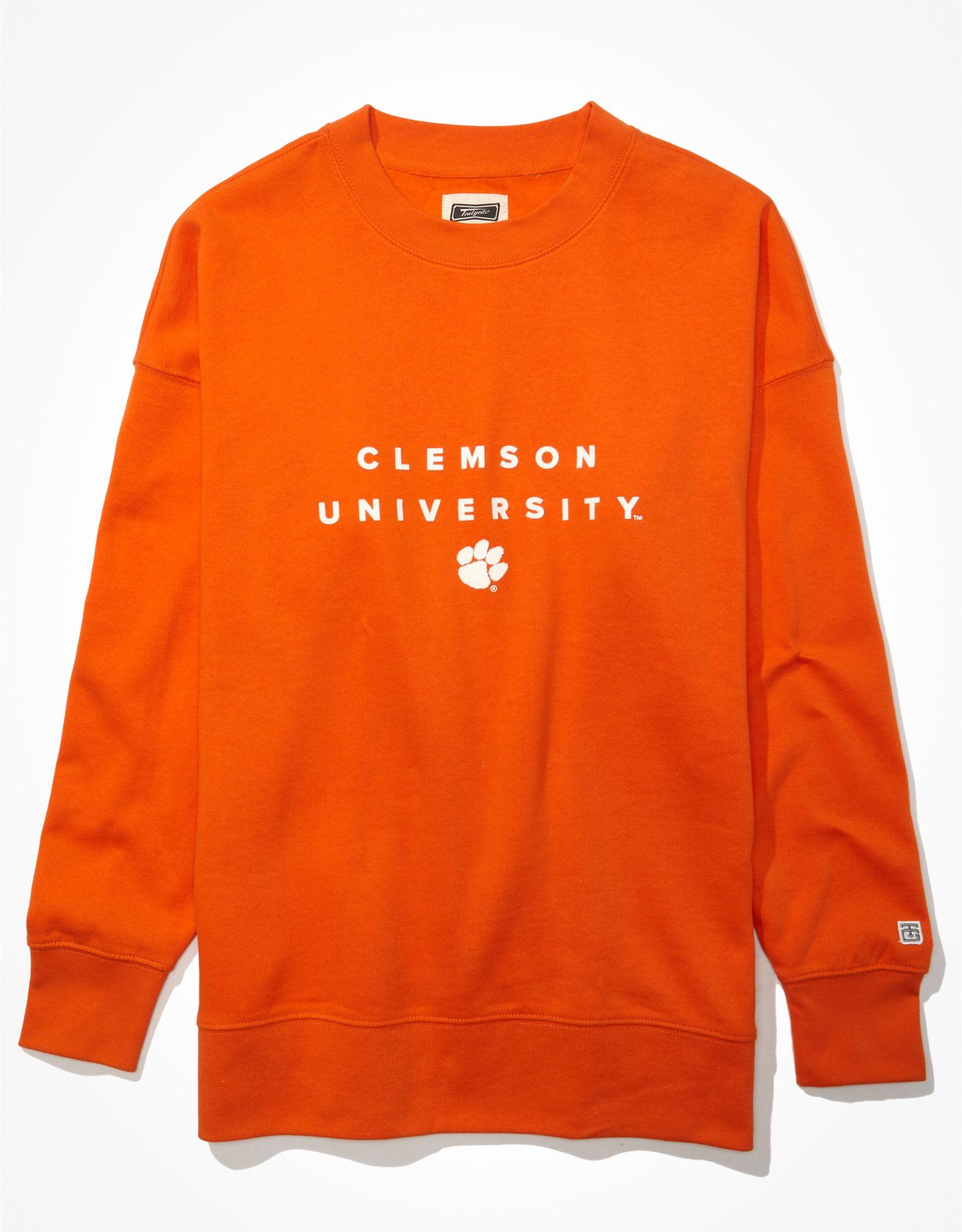 Tailgate Women's Clemson Tigers Oversized Sweatshirt