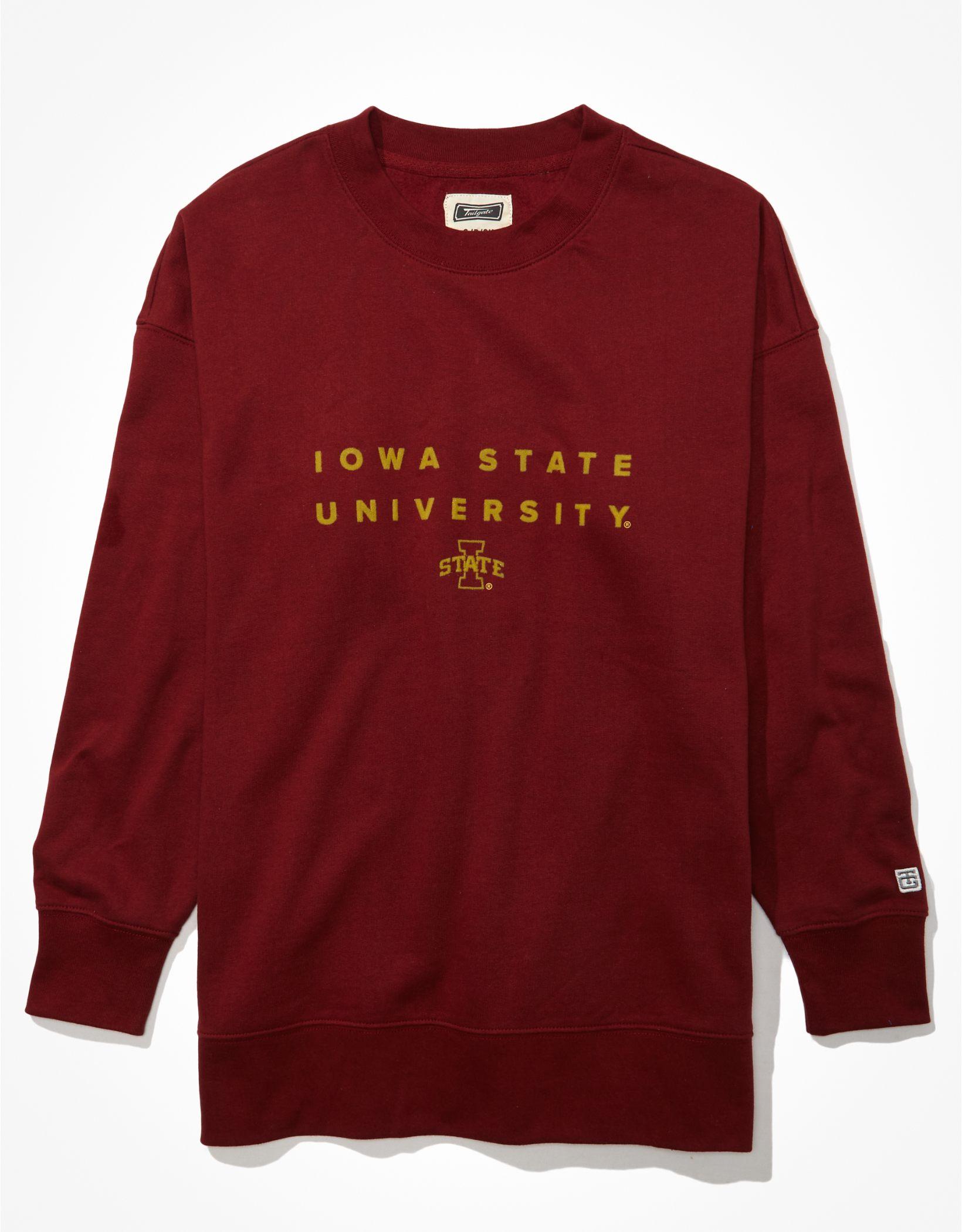 Tailgate Women's Iowa State Cyclones Oversized Sweatshirt