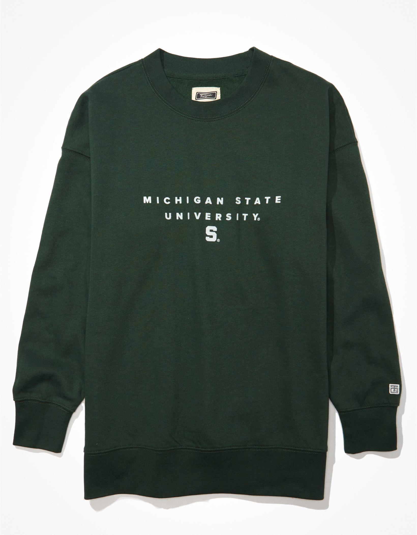 Tailgate Women's Michigan State Spartans Oversized Sweatshirt