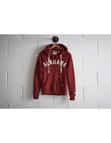 Tailgate Women's Alabama Zip Hoodie - Free Returns