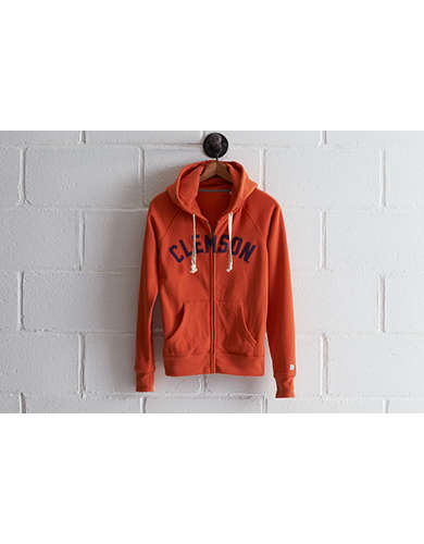 Tailgate Women's Clemson Zip Hoodie - Free Returns