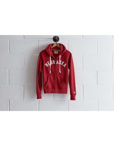 Tailgate Women's Nebraska Zip Hoodie - Free Returns