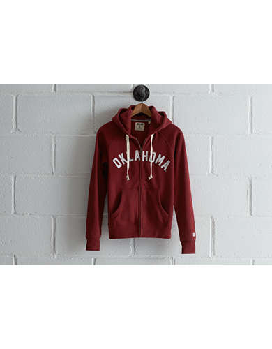 Tailgate Women's Oklahoma Zip Hoodie - Buy One Get One 50% Off